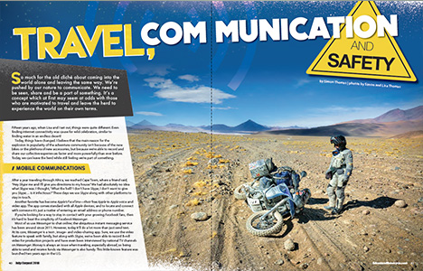 ADVMoto Travel communication